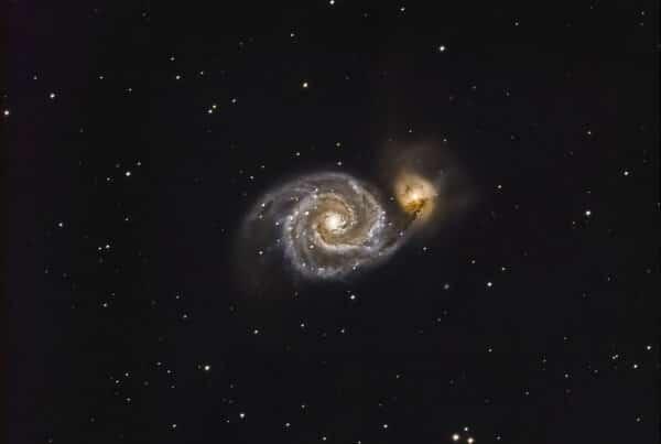 Galaxie des chiens de chasse (M51)